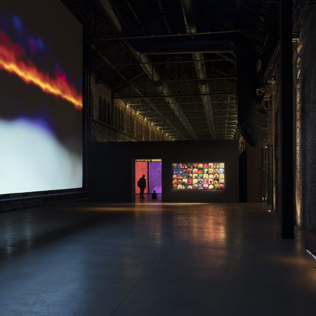 Susan Hiller, Exhibition Design, OGR Turin