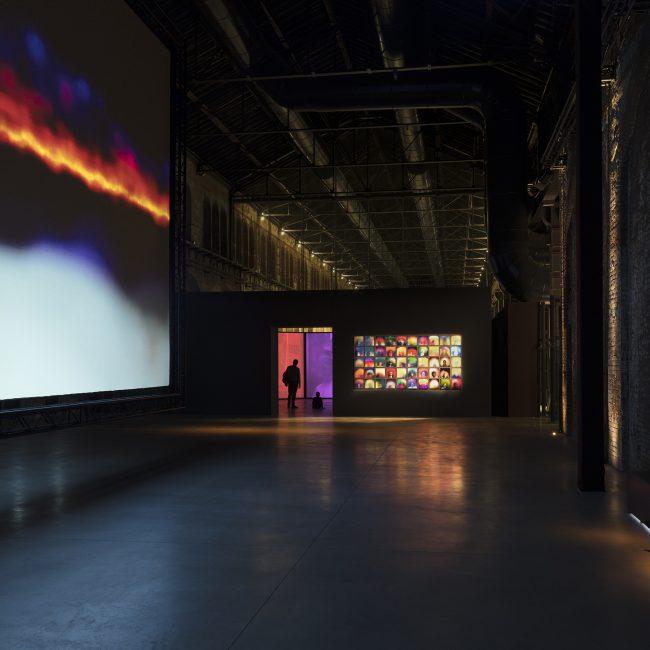 Susan Hiller, Exhibition Design, OGR Turin