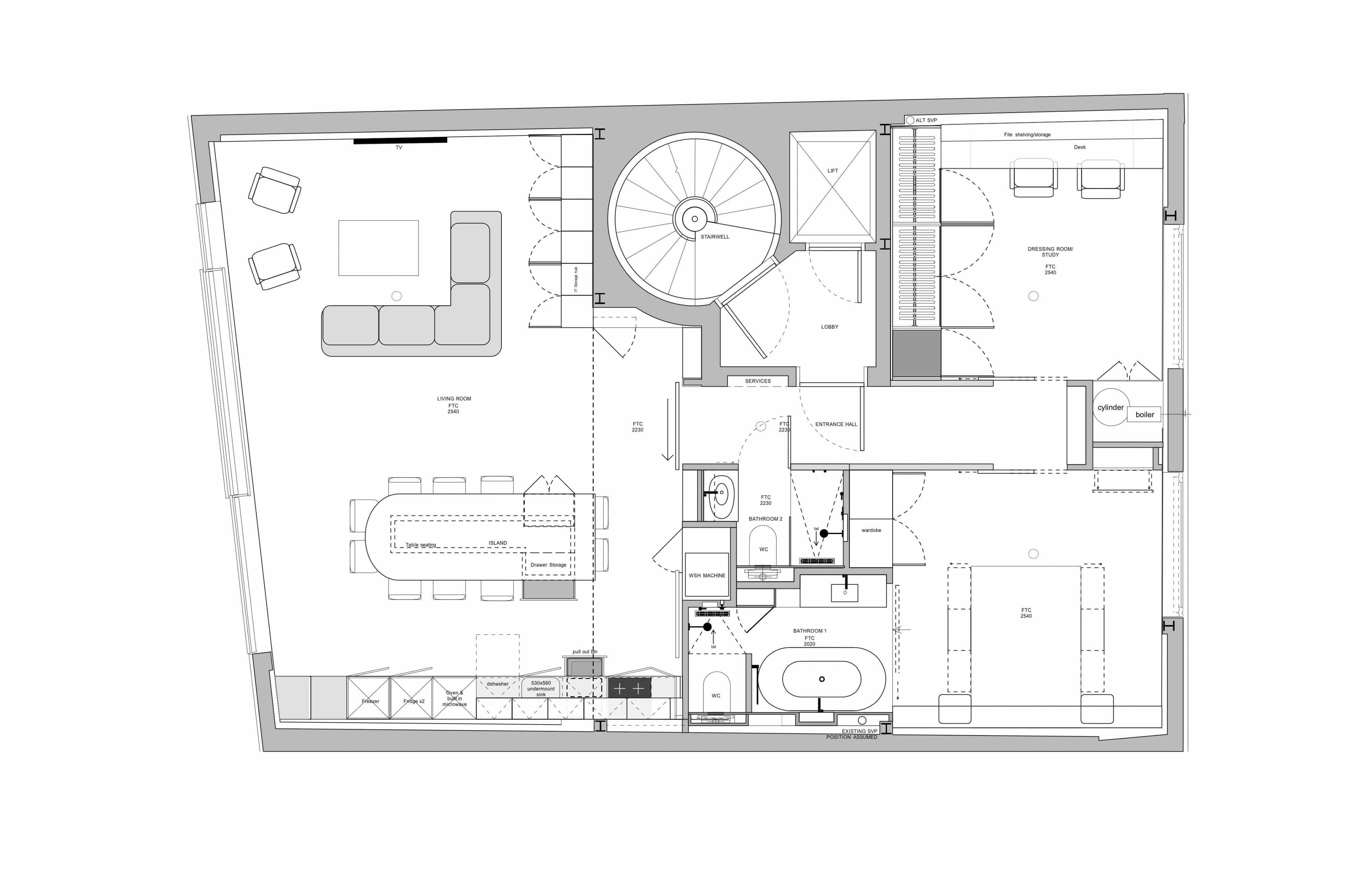 Clerkenwell-Green-CAD Drawing Plans