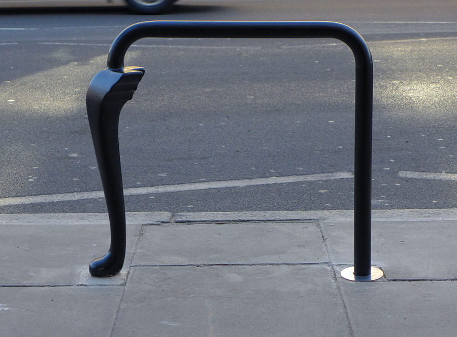 Public Art Cycle Stand