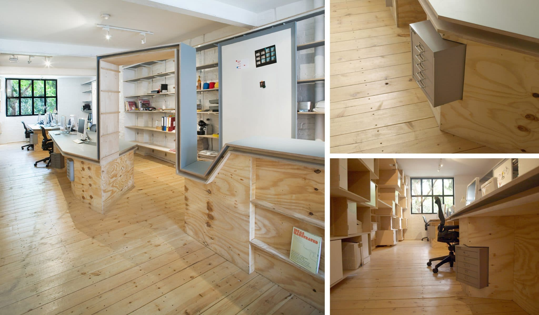 Shoreditch Office and workplace fit out by The Klassnik Corporation