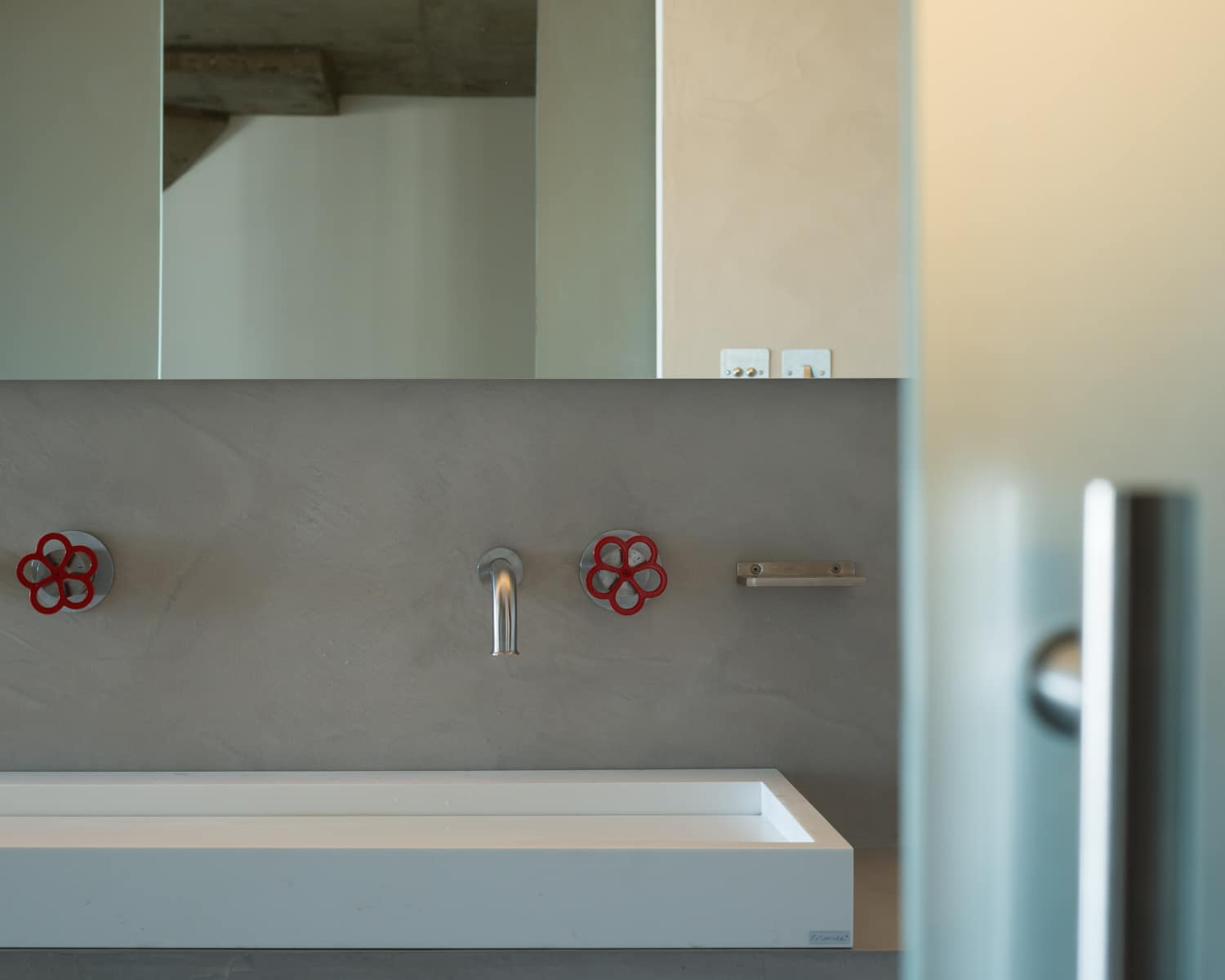 Ziggurat bathroom boffi taps and basin