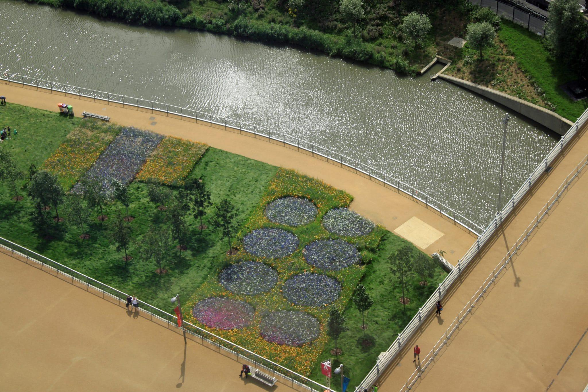 London 2012 Olympics Day Three: ArcelorMittal Orbit views