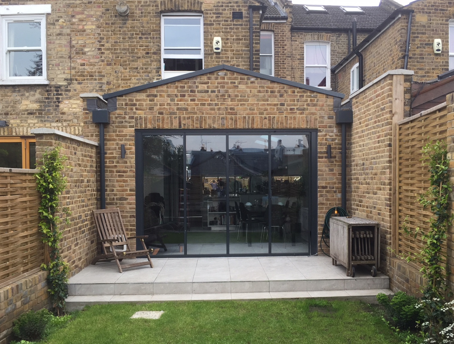 Rear extension with bifold doors